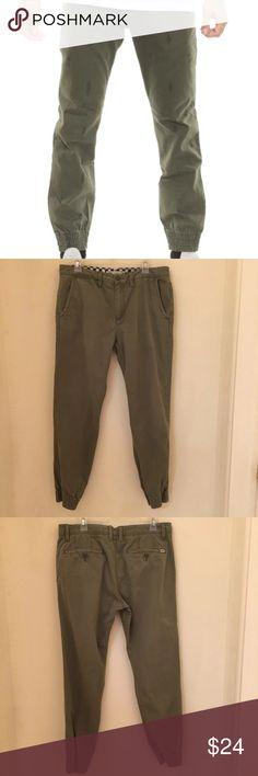 046c8670f7 VANS Excerpt Chino Jogger Pant Khaki 34 VANS Excerpt Chino Jogger Pant 34  Waist size 34