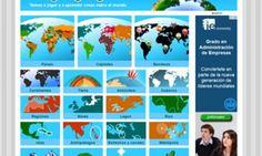 Juegos para estudiar Geografía en Secundaria