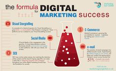 nice Digital Marketing Agency Infographic for Small Business