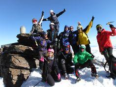 Cumbre del Mulhacen, Asensión al Mulhacén desde Capileira