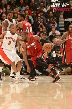 Heat wins over Raptors!! 3/17/2013