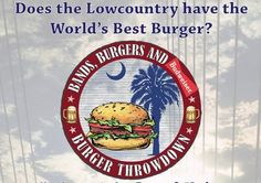 CharlestonHarbor - Eventful Best Chef, Travel Channel, Low Country, Burgers, Brewing, Bands, Hamburgers, Band Memes, Band