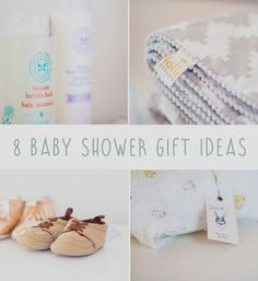 8 Baby Shower Gift Ideas // Belle + Beau // Last weekend I was held a beautiful surprise baby shower and was given so many gifts that I love!