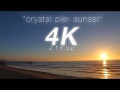 2 HR 4K Nature: Crystal Pier Sunset San Diego Pacific Beach Real Time Relaxation Video - With relaxing guitar music: | PURCHASE: . DOWNLOAD OR STREAM WATERMARK FREE: ABOUT: . - see more at http://sdconnection.com