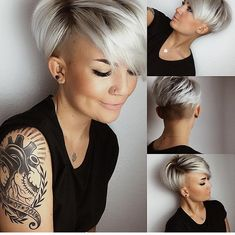 36 Pretty Fluffy Short Hair Style Ideas For Short Pixie Haircut - Latest Fashion Trends For Woman hair styles 36 Pretty Fluffy Short Hair Style Ideas For Short Pixie Haircut - Latest Fashion Trends For Woman Latest Short Hairstyles, Latest Haircuts, Short Pixie Haircuts, Pixie Hairstyles, Pixie Cut With Undercut, Undercut Pixie Haircut, Undercut Hairstyles Women, Haircut Short, Hairstyles Videos