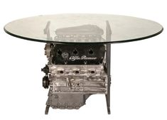 Alfa Romeo Engine Converted to Table