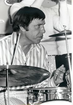 Buddy Rich! One badd a$$ drummer.