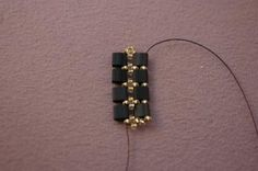 A Free and Fancy Tile Bead Bracelet Beading Pattern: Stabilize the Tila Beads