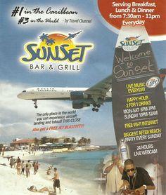 sunset beach bar st maarten