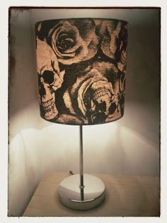 Skulls & Roses Lampshade 20cm Drum