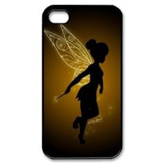 Designyourown Case Peter Pan Tinkerbell Iphone 4 4s Cases Hard Case Cover the Back and Corners iPhone4-3597