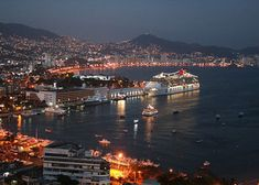 Acapulco at night is heaven.