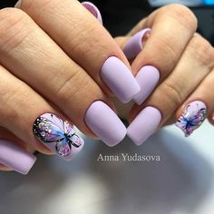 Домашний маникюр | Дизайн ногтей новинки My Nails, Manicure, Beauty, Style, Blue, Tatoo, Fingernail Designs, Manicure Ideas, Nail Bar