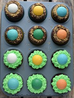 Amy's Confectionery Adventures: Golf Ball Cupcakes