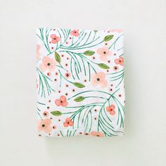 fitted crib sheet in winter floral // made to order by iviebaby