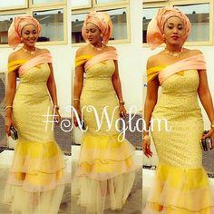 Nigerian wedding ore-iyawo aso-ebi styles special 15Nigerian Wedding | Nigerian Wedding