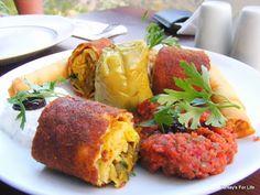Turkish Food - Meze At Olive Garden Restaurant, Kabak