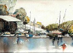 Tamar Boat Yard, 2004 by Harry Kent, via Flickr