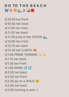 Summer Bucket List For Teens, Summer Fun List, Summer Goals, Summer Feeling, Summer Vibes, Summer Checklist, How To Get Tan, Tanning Tips, Glow Up Tips