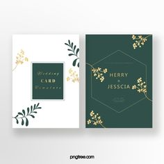 Exquisite Emerald Invitation Graphic Wedding Invitations, Gold Invitations, Watercolor Wedding Invitations, Elegant Invitations, Wedding Invitation Templates, Flower Invitation, Invitation Card Design, Palm Wedding, Wedding Cards