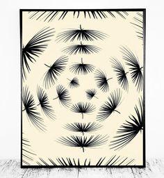 Leaf Pattern Print Pattern Printable Pattern Leaf by CristylClear