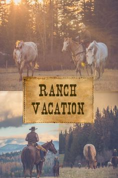 Adventure Vacations at the Ranch