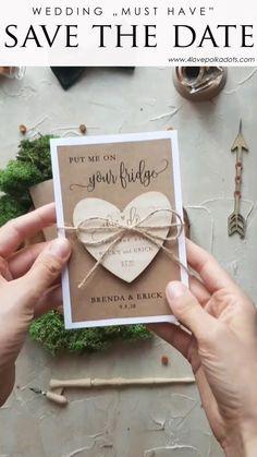 Trendy wedding invitations save the date parties ideas Wedding Cards Handmade, Diy Wedding, Wedding Gifts, Dream Wedding, Luxury Wedding, Wedding Venues, Trendy Wedding, Best Wedding Ideas, Wedding Destinations