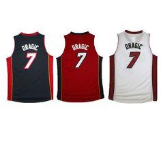 Aliexpress.com   Buy Men s  7 Goran Dragic Jersey Miami New Rev 30 Home  Black red White Goran Dragic Basketball Jerseys Shirt Uniform from Reliable  uniform ... bb128a88d
