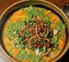 Vegetarian Khow Suey recipe