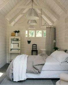 Perfect bedroom for the beach