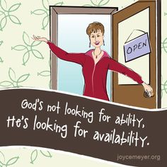 Are you available?
