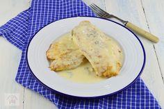 Rulada cu crema de branza si piersici - CAIETUL CU RETETE Coleslaw, Recipies, Cooking Recipes, Chicken, Ham, Recipes, Coleslaw Salad, Cabbage Salad