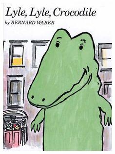 Lyle, Lyle, Crocodile - have it - thrift store find - paperback