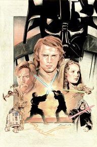 Revenge of the Sith Star Wars | Vadar | The Force | Return of the Jedi | Empire Strikes Back | New Hope | Jedi | Lightsaber | R2D2 | C3PO | Chewbacca | Han Solo | Luke Skywalker | Yoda