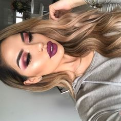 "34.4k Likes, 159 Comments - @iluvsarahii on Instagram: ""Another close up on this look🍇🍇🍇 Full look is up on @christendominique channel…"""