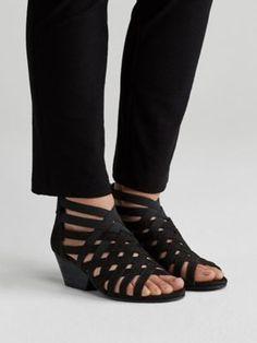 96f8c23dbdf6 Oodle Sandal in Tumbled Nubuck-EF42800. Eileen FisherSandalsHeelsSlide  SandalsShoes ...