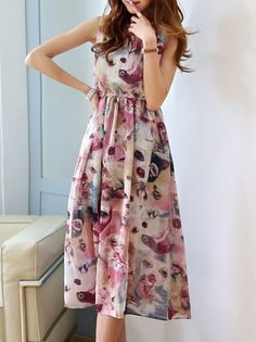 Chiffon On Vacation Chic Dress_Tank & Sleeveless_DRESSES_Wholesale clothing, Wholesale Clothes Online From China Sleeveless Dresses, Chic Dress, Tank Dress, Wholesale Clothing, Wrap Dress, Chiffon, China, Vacation, Clothes