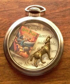 Harry Potter and the Prisoner Of Azkaban Pocket Watch Themed Pendant Necklace