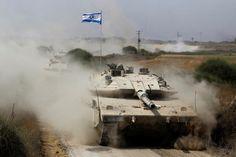 GUERRA SANTA 11 - 13 de Julio - El Ejército israelí realiza su primer avance terrestre en Gaza. Los muertos suman 160. Miles de palestinos buscan refugio ante la advertencia de más bombardeos.