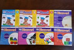 Your Baby Can Read & Discover Science Based Approach Early Development Book Lot