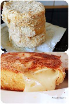 Rezept: gebackener Camembert mit Sahne. Mega lecker!!