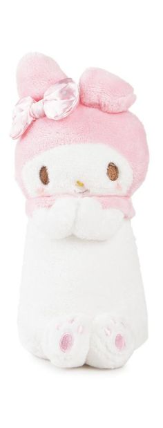 Let My Melody help you with your studies with this super sweet standing pencil case.  Adorable!