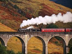 The Glenfinnan Viaduct in Scotland Peter Olah of Chafford Hundred, Essex