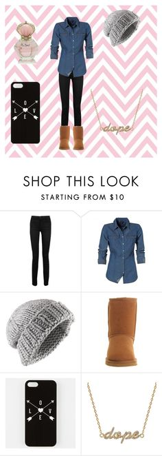 """""""Abbys outfit #2"""" by stanbro2001 ❤ liked on Polyvore featuring Proenza Schouler, Jigsaw, UGG Australia and Khai Khai"""