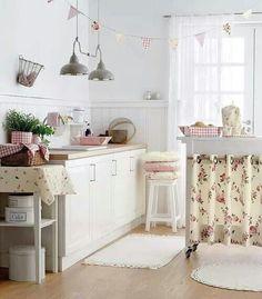 bialo pastelowa kuchnia - Szukaj w Google