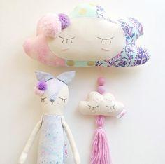 Sweet Handmade Clouds and Dolls | Little Peach Handmade