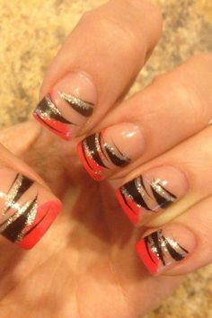 harley davidson designs for  gel nails | acrylic nails more harley colors nails art nails design acrylics nails ...