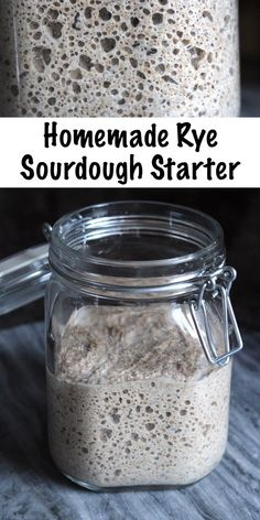 Homemade Rye Sourdough Starter ~ If you want to make rye sourdough, you'll need a rye sourdough starter. Rye breads taste better with the long slow leavening that a sourdough culture provides, an Rye Sourdough Starter, Sourdough Bread Starter, Slow Rise Sourdough Bread Recipe, Rye Bread Recipes, Bread Machine Recipes, Homemade Rye Bread, Recipes With Rye Flour, Sauce Pizza, Vegan