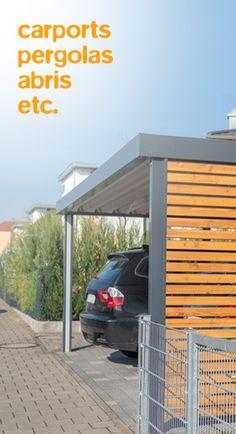 Ml fusion Marc Lamour design  carport aluminium abrite pergola