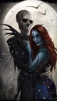 Realistic jack and sally